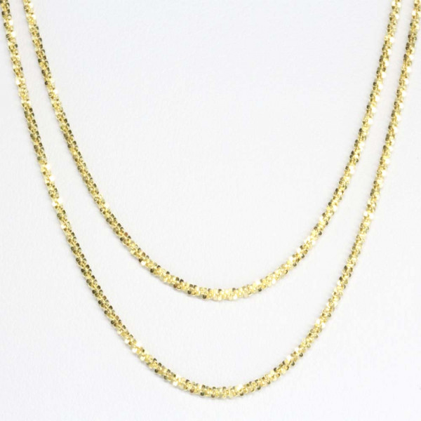 Schmuck Damen Armband Armkette echt Gold 333 8 kt zweireihig 19 cm