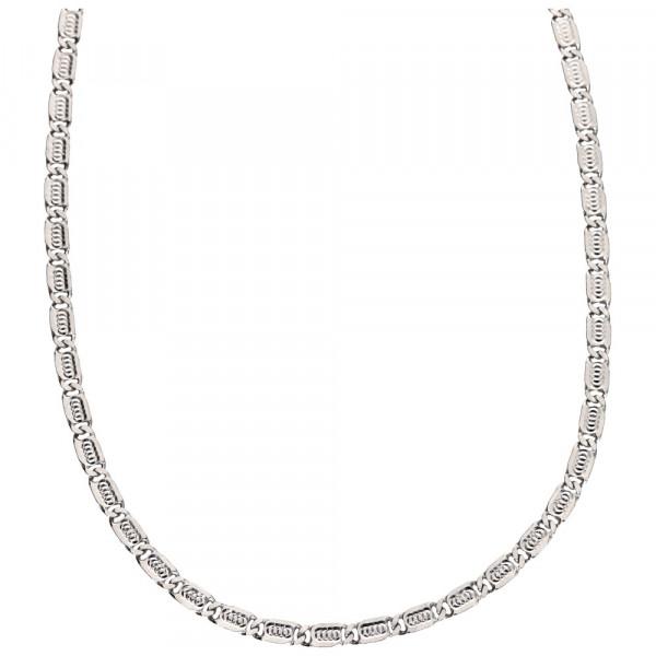 Halskette Kette Collier echt Silber 925 Sterlingsilber rhodiniert Länge 45 cm