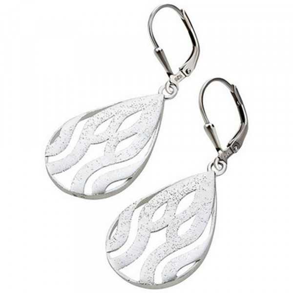 Damen Schmuck Ohrringe Ohrhänger Ohrpendel echt Silber 925 rhodiniert
