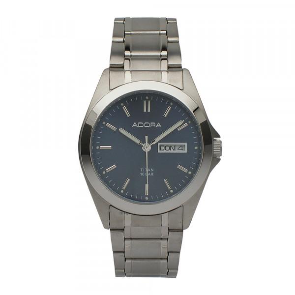 Herrenuhr Armbanduhr aus Titan Titanium Adora 10 atm wasserdicht AB6180