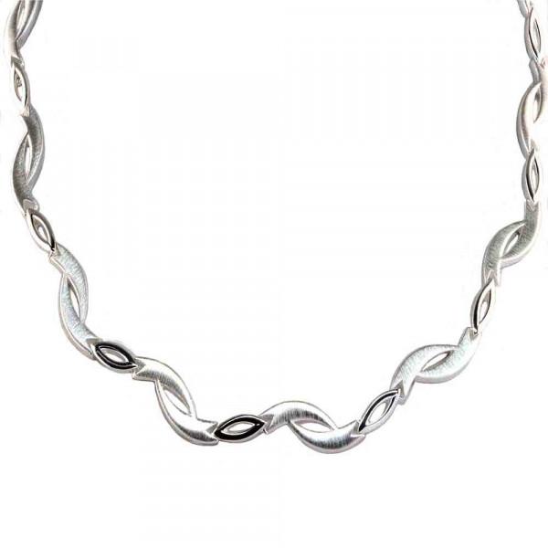massives Damen Armband Armkette echt Silber 925 rhodiniert 19 cm lang