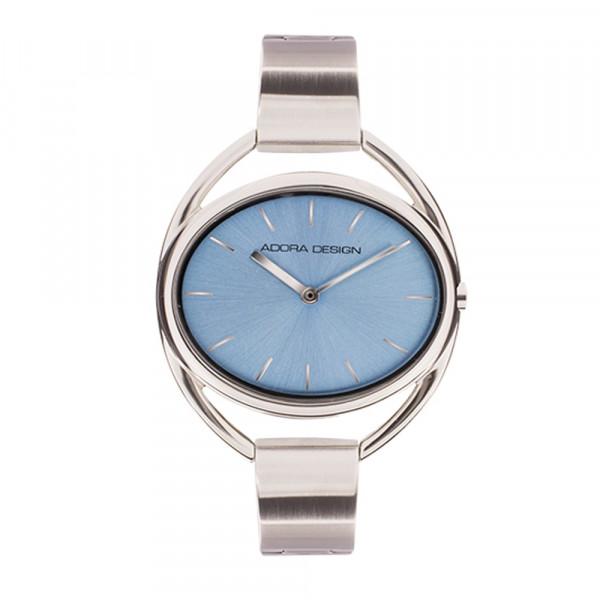 Damen Uhr Armbanduhr Material Edelstahl Halbspange Adora 3 atm