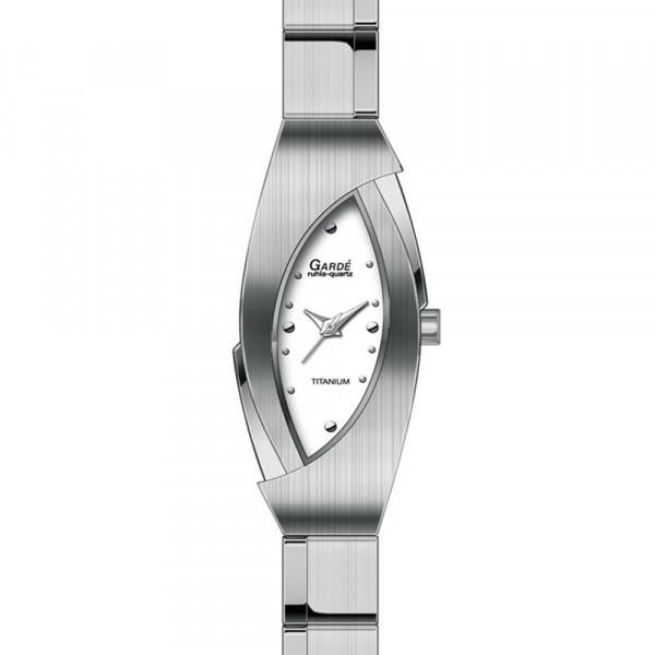 Damen Uhr Armbanduhr Material Titan Titanium Garde' Ruhla 3 atm wasserdicht