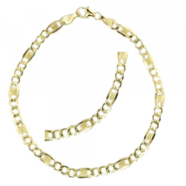 Schmuck Armband Armkette unisex echt Gold 333 8 kt Länge 19 cm