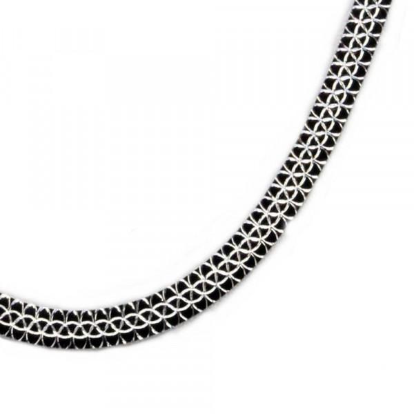 Damen Halskette Kette Collier echt Silber 925 Sterlingsilber