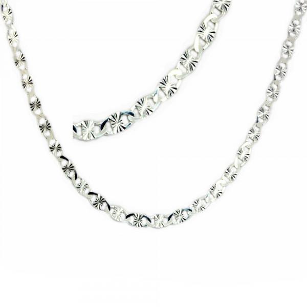 Damen Collier Halskette Kette Silber 925 Länge 45 cm