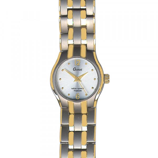 Damenuhr Armbanduhr Titan Titanium Garde' Ruhla 3 atm Elegance 7803-5