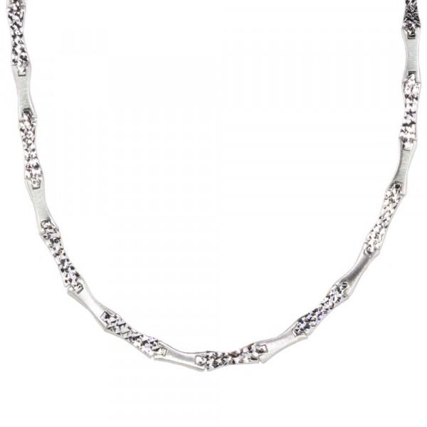 Damen Halskette Kette Collier echt Silber 925 Sterlingsilber Länge 45 cm