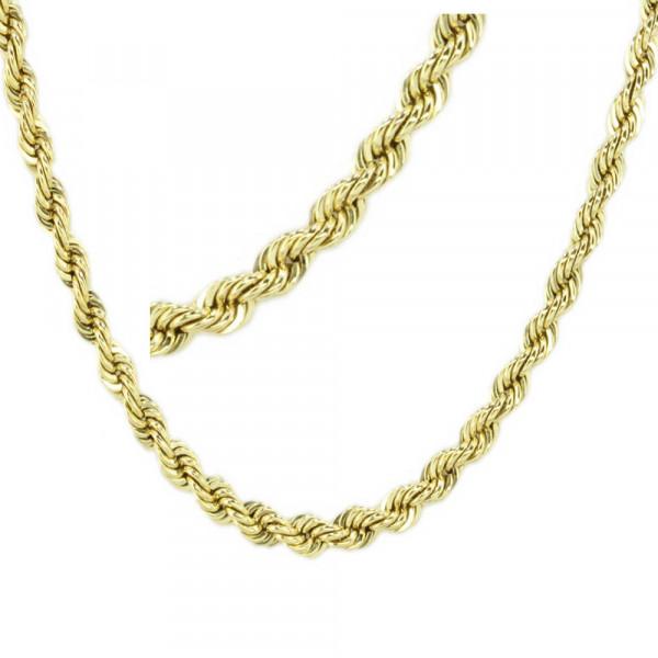Kordel Armkette Armband echt Gold 333 ( 8 kt ) Gelbgold 18,5 cm lang