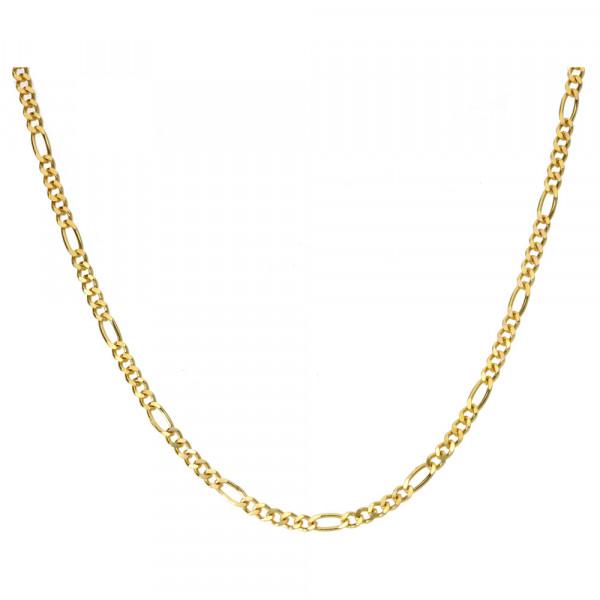 Collierkette Figarokette 1,5 mm breit echt Gold 333 (8 kt)