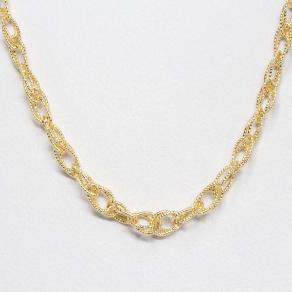 Schmuck Damen Armband Armkette echt Gold 14 kt 19 cm lang Legierung 585