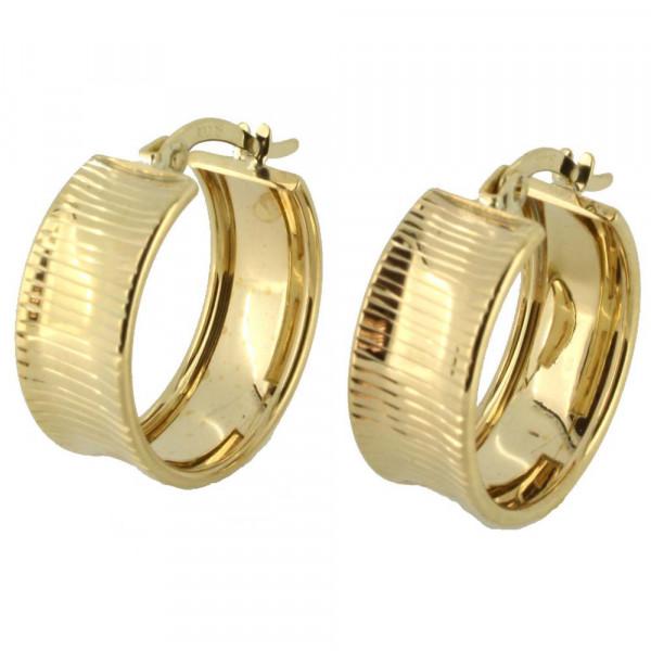 Damen Ohrringe Creolen Bügelcreolen echt Gold 333 8kt
