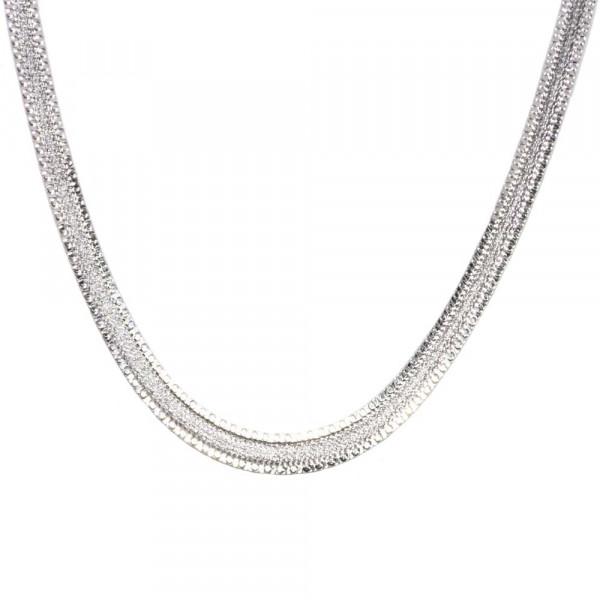 Armband Armkette echt Silber 925 Sterlingsilber rhodiniert