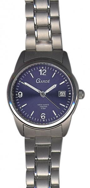 Damen Uhr Armbanduhr Material Titan Titanium UMR Ruhla 5 atm wasserdicht