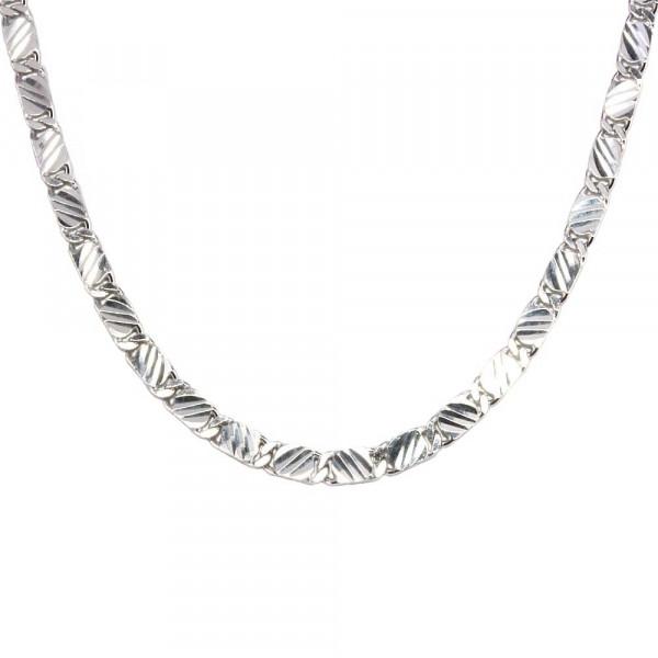 Kette Collier echt Silber 925 rhodiniert in den Längen 42, 45 und 50 cm